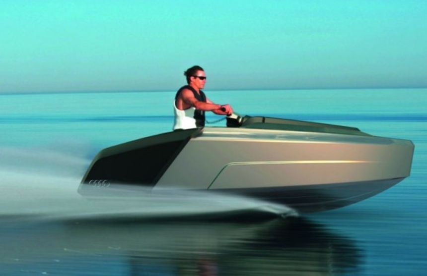 Meet The Coolest Motor Yacht Concept The Audi Motor Yacht