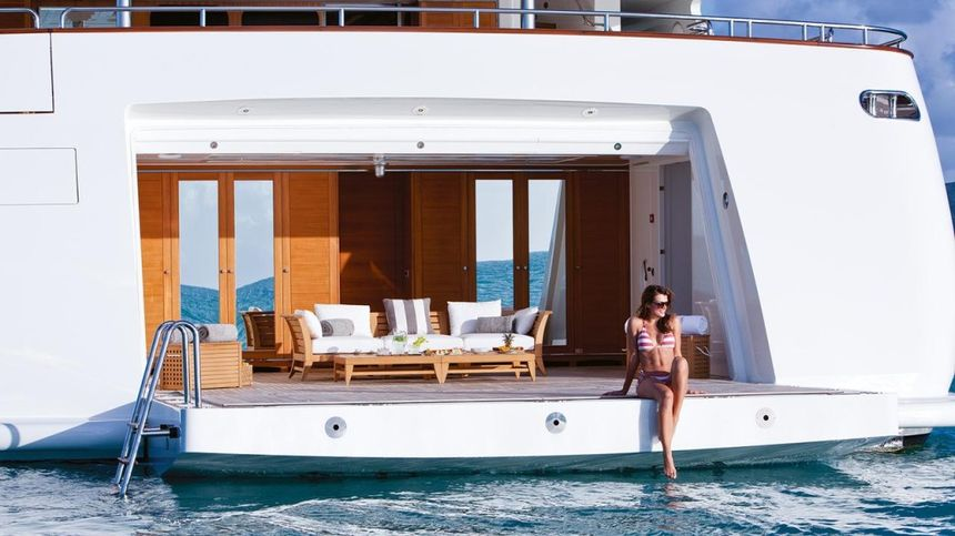 check out the top 8 superyacht beach clubs   marine news