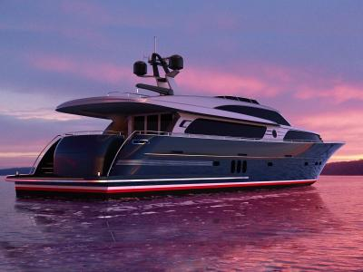 Continental III 26.00 Raised Pilothouse