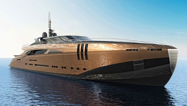 This 26 4 Million Belafonte Yacht Concept Is The Aston Martin Of