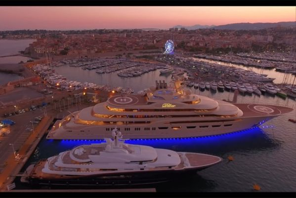 Must Watch Video Of The World S Largest Yacht Dilbar Boating Feed