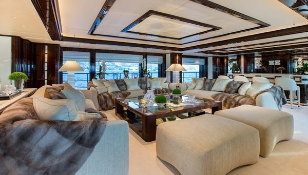 5 Stunning Superyacht Interiors To Make You Feel Right At Home