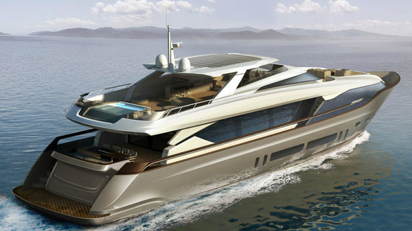 First Maiora 36 Raised Pilot House Yacht In Build