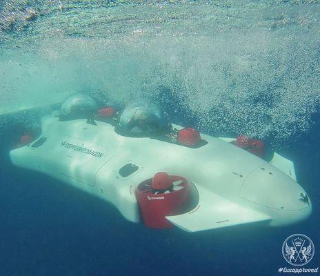 $1.5 Million 'Undersea Aquahoverer': new superyacht accessory?